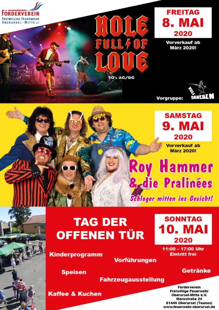 Plakat des Frühlingsfests 2020